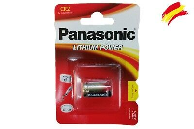 2 X Pila Panasonic Cr2 3V Litio Camara Foto Cr-2-1Bp Battery