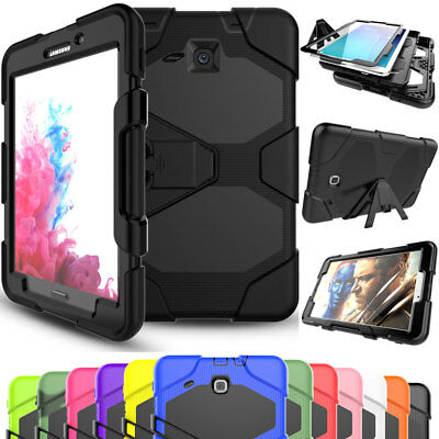 For Samsung Galaxy Tab A 7.0 T280 Screen Protector Heavy Rugged Hard Case Cover