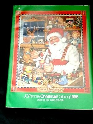 Vintage JCPenney Christmas Catalog 1996  great condition
