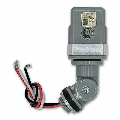 Led Compatible Heavy Duty 120V Dusk To Dawn Outdoor Swivel Control Adjustable