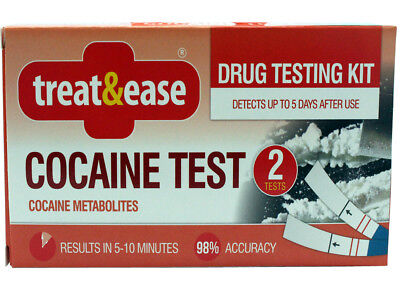 Cocaine Drug Test 98% Accuracy 2 Sets 10 Min Test Cocaine Metabolites