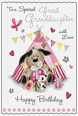 To An Amazing Great Granddaughter 13 Today Birthday Card