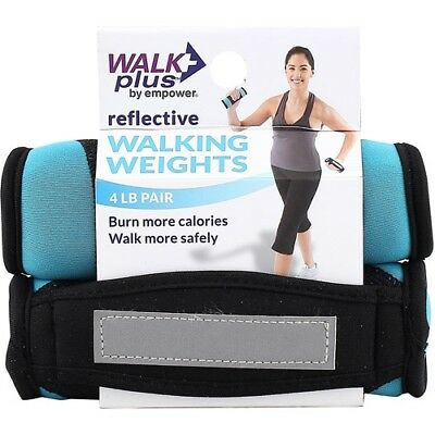 (4lb) - WalkPlus by Empower Walking Weight Pair. Unbranded. Free Shipping
