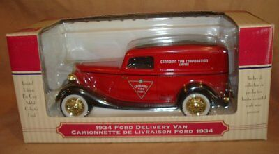 Canadian Tire Ltd. Edt. Series 2 No.2 1934 Ford Sedan Delivery Van Coin Bank Mib