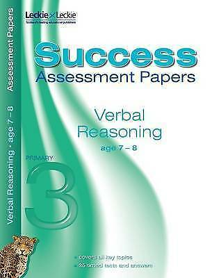 Assessment Papers – Verbal Reasoning Assessment Papers 7-8 - New Book Various Au