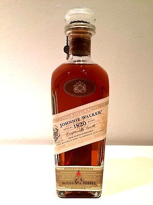Johnnie Walker 1820 Special Blend (White Label) Scotch Whisky 700mL -Bottle Only