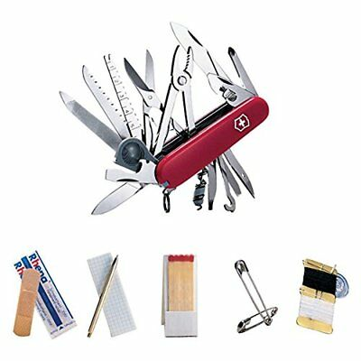 Victorinox Swiss Army Swiss Champ SOS Set Pocket Knife 47 Functions Red