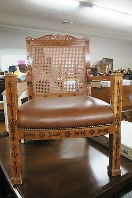 Pair of Empire Style Arm Chairs