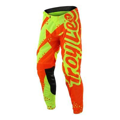 TLD Youth GP Pant Shadow Flo Yellow (Size:YTH 18/26)2018 MOTOCROSS GEAR SALE!