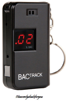 NEW sealed BACtrack KC10 Keychain Breathalyzer, Portable Breath Alcohol Detector
