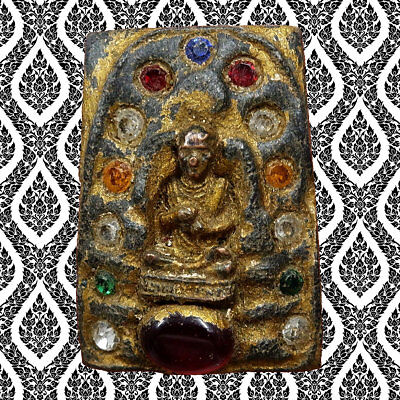 Thai Amulet Buddha Phra LP Somdej Toh Power Talismans Life Protect Wealth Lucky