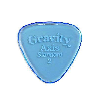 Gravity Pick - Axis 2.0mm Standard Polished - Lot of FIVE picks