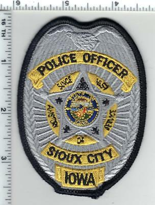Sioux City Police (Iowa) Shirt/Jacket Patch - new from the 1980's