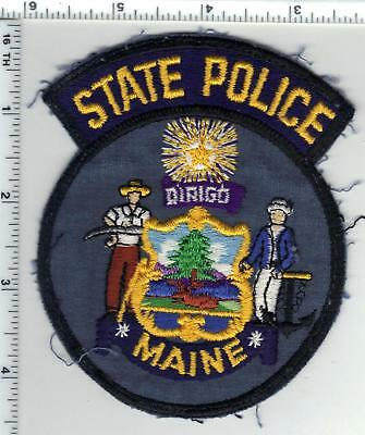 State Police (Maine) Uniform Take-Off Shoulder Patch from the Early 1980's
