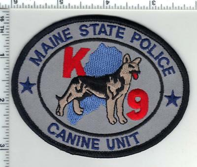State Police (Maine) K-9 Shoulder Patch from the 1980's