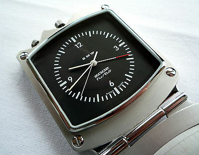 BMW 02 Series 2002 tii Turbo Coupe Classic Car Accessory GMT Alarm Clock Watch