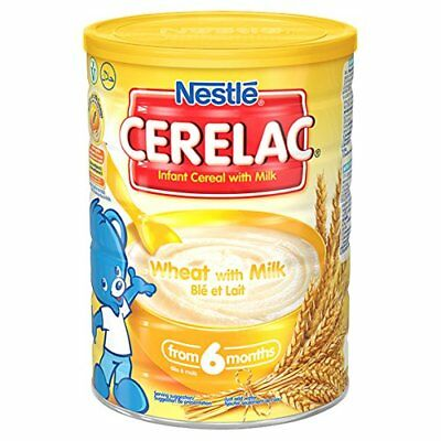 Nestl CERELAC Wheat with Milk Infant Cereal 1kg, 6 months