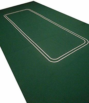 New 6Ft Large Poker Casino Felt Baize Layout - Texas Holdem