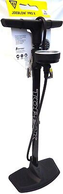 Topeak Joe Blow Pro X 200psi Floor Pump Smarthead DX Presta /& Schrader Bike