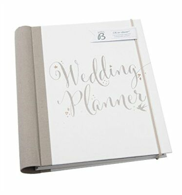 Busy B Bride to B Script Wedding Planner - perfect engagement gift with checklis