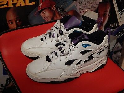 19c7d27e7ec Size 9.5 OG Vintage Reebok Above the Rim ATR Basketball Shoes retro  sneakers low