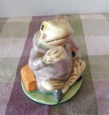 Vintage Beatrix Potter Jeremy Fisher Frog Figurine Royal Albert England BP-6A