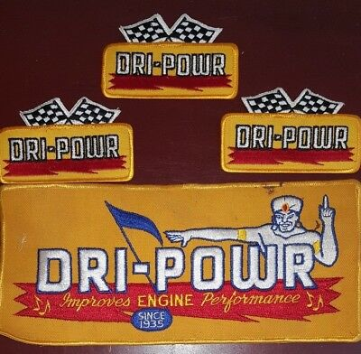 Vintage  DRI-POWR Embroidered Patches