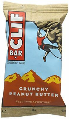 Clif Bar Energy Bar Crunchy Peanut Butter 68 g Pack of 12
