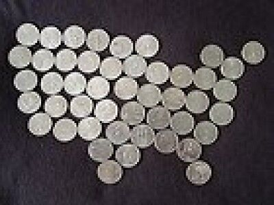 1999-2008 D Complete UNC State Quarter 50 Coins Set. US Mint. Brand New