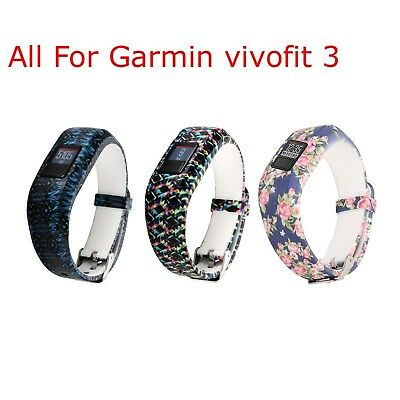 (Set of 3) - I-SMILE Replacement Wristband With Secure Clasps for Garmin
