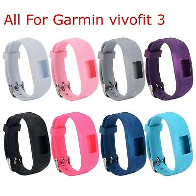 (Set of 8) - I-SMILE Replacement Wristband With Secure Clasps for Garmin