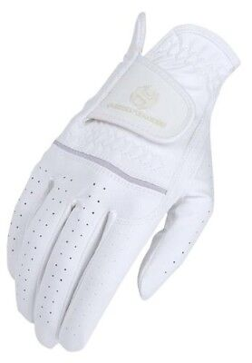 (10, White) - Heritage Premier Show Glove. Heritage Products. Shipping Included