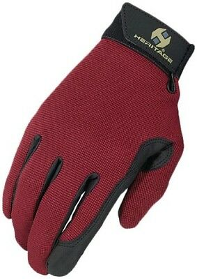 (6, Burgundy) - Heritage Performance Glove. Heritage Products. Huge Saving
