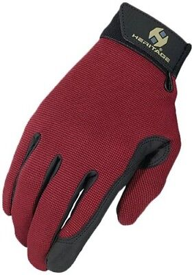 (7, Burgundy) - Heritage Performance Glove. Heritage Products. Delivery is Free