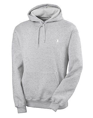 (5X-T, Grey) - Champion Big and Tall Fleece Pullover Hoodie. Brand New