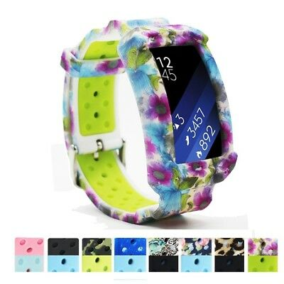 (free size, color 10) - Samsung Gear Fit2 Watch Band,Budesi Replacement Strap