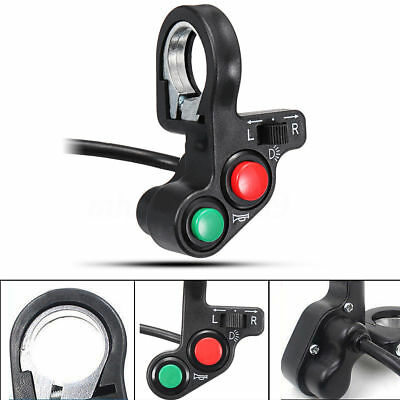 3in1 New Motorcycle Light/horn Light/turn E-bike Signal On-off Switch Parts J1#
