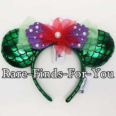Disney Parks The Little Mermaid Princess Ariel Minnie Mouse Ears Headband (NEW)