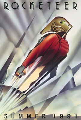 The Rocketeer (1991) Style-A Billy Campbell Alan Arkin Movie Poster Size 27x40""