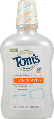 Anticavity Flouride Rinse Juicy Mint, Tom's of Maine, 16 oz