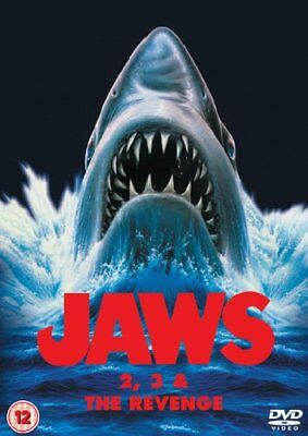 Jaws 2/Jaws 3/Jaws: The Revenge [DVD] Brand New 5050582728101
