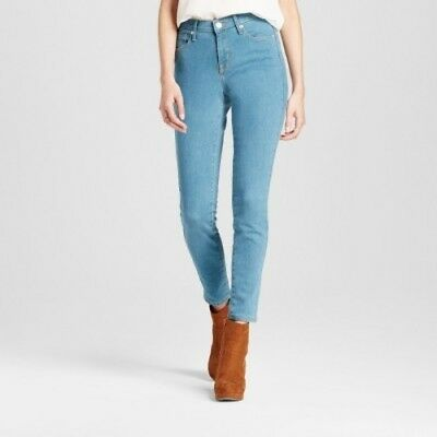 Women's Mid Rise Skinny Jeans by Mossimo