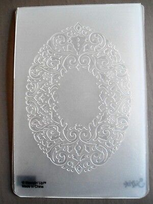 Stampin' Up! NEW Embossing Folder Christmas Holiday Frame