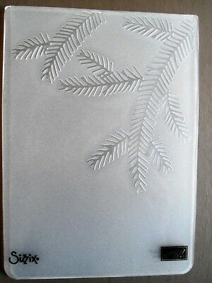 Stampin' Up! NEW Christmas Embossing Folder Pine Bough
