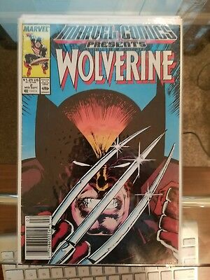 Marvel Comics Presents WOLVERINE #2, #50, and #54. Lot of 3!!!!
