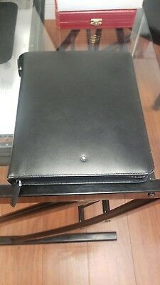 Montblanc Meisterstück Zipper Black Leather Large Organizer 104833 Orig