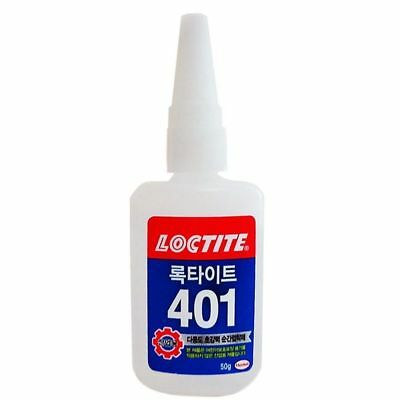 Loctite 401 50g Instant Adhesive Bottle Stronger Super Glue Multi-Purpose