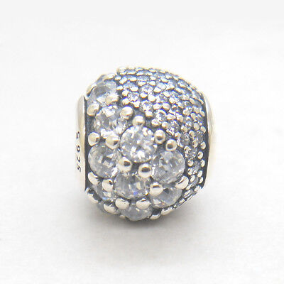 New Authentic Silver Enchanted Pave Clear CZ Charm Spring 2018
