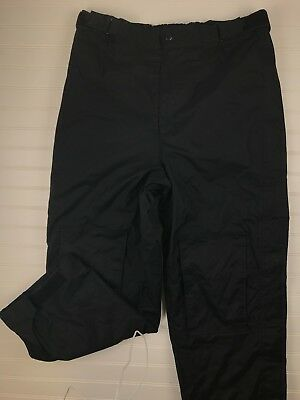 Viking Mens Tempest Tri-Zone Insulated Pants Work Outdoor Black Large Waterproof