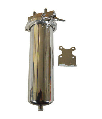 "Brand New High Pressure 304 Stainless Steel Filter Housing for 10"" Cartridge"
